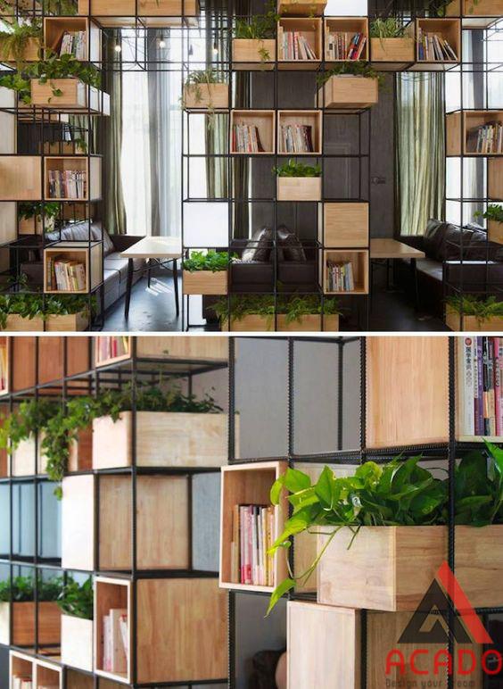 Giá cây giúp con người đưa thiên nhiên vào nhà