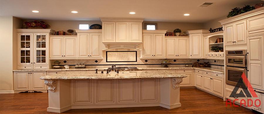 Có rất nhiều màu để bạn lựa chọn cho căn bếp nhà mình từ vân gỗ hay màu tự nhiên, công nghiệp