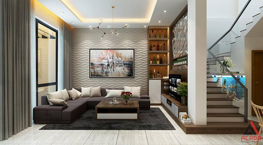 Biệt thự hiện đại cho căn nhà đẹp.