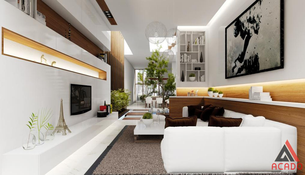 Thiết kế nội thất cho căn nhà đẹp.