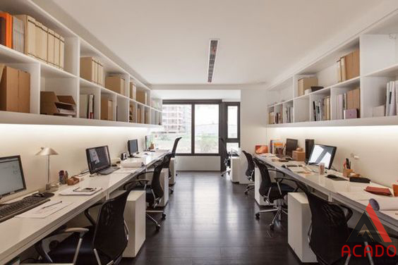 Tận dụng ánh sáng trên tầng cao của một căn chung cư và cách bài trí rất khoa học.