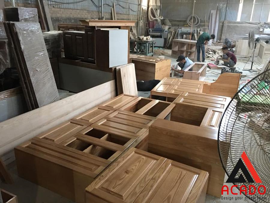 Nhà xưởng sản xuất đang vận hành của Acado