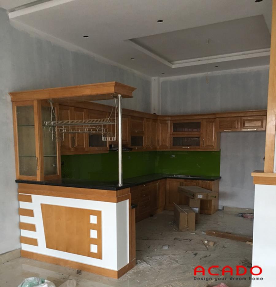 công trình tủ bếp tại Vân Giang