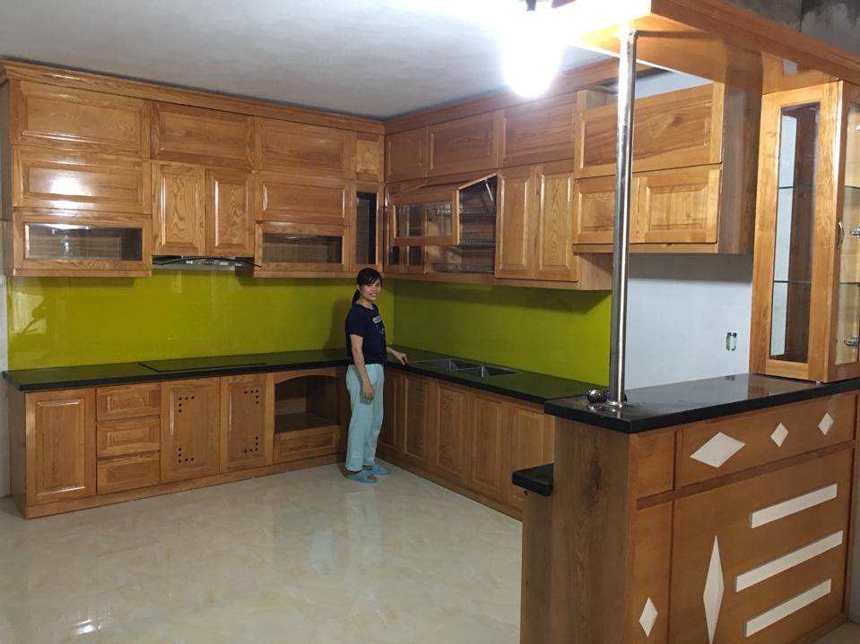 tủ bếp tại Xuân Đỉnh