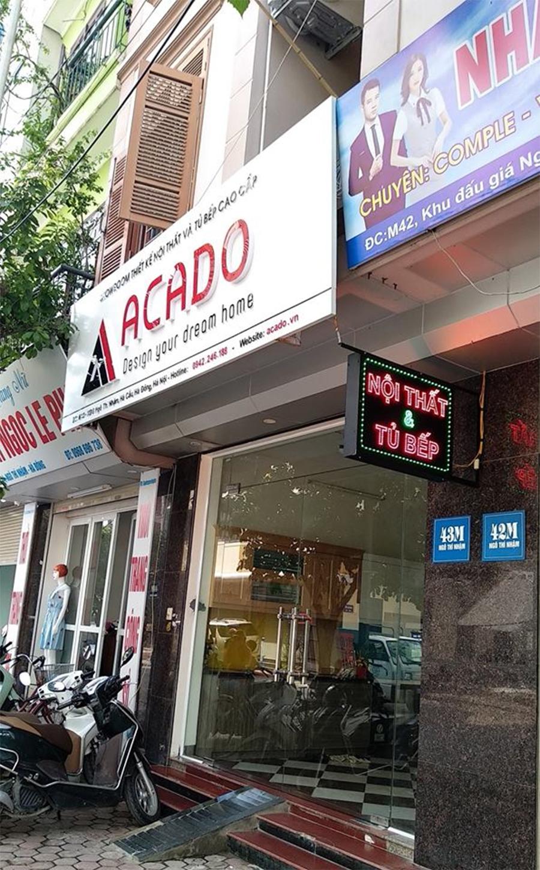 Cửa hàng tại Hà Đông