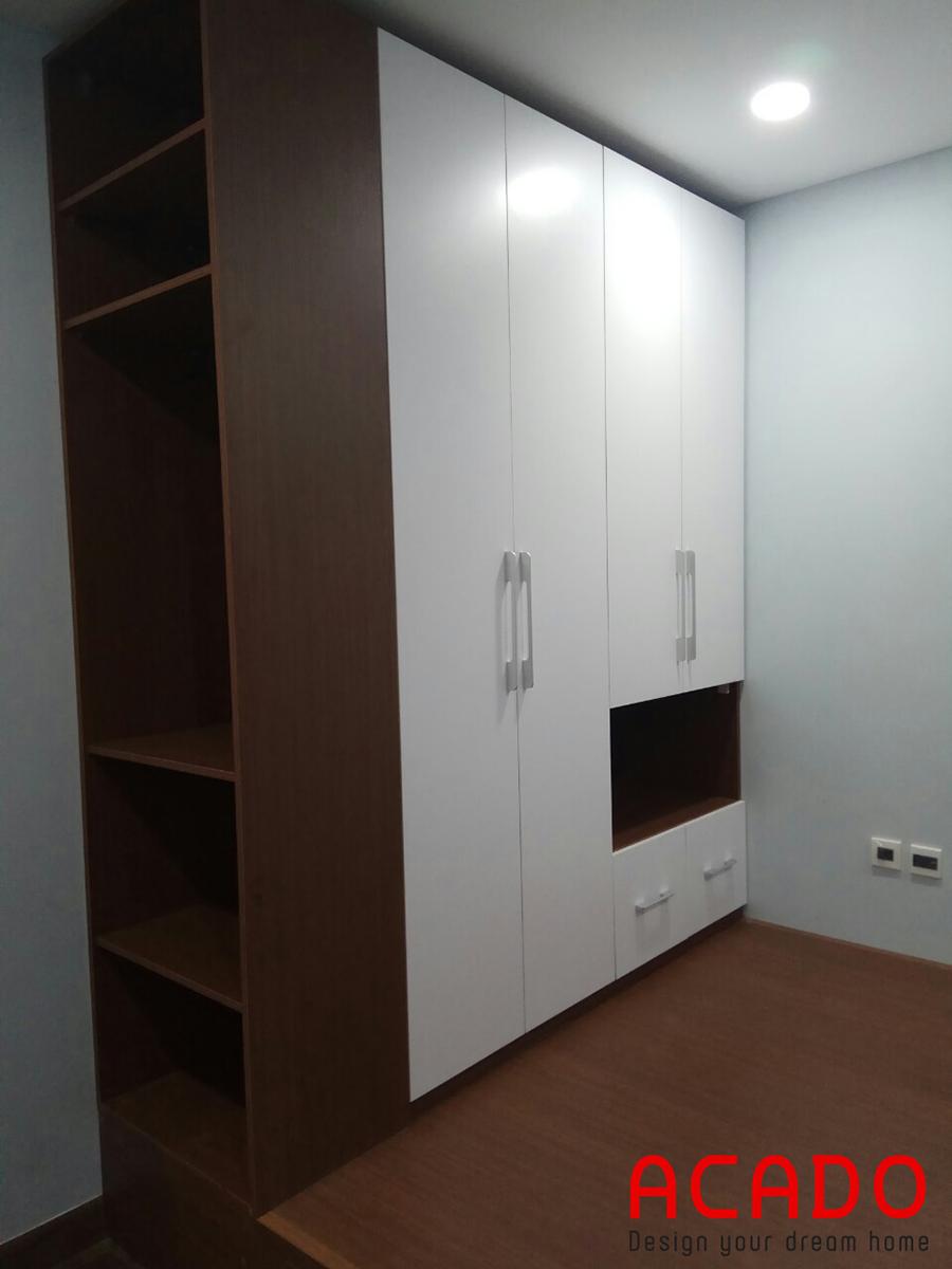 Tủ quần áo được Acado thiết kế khoa học