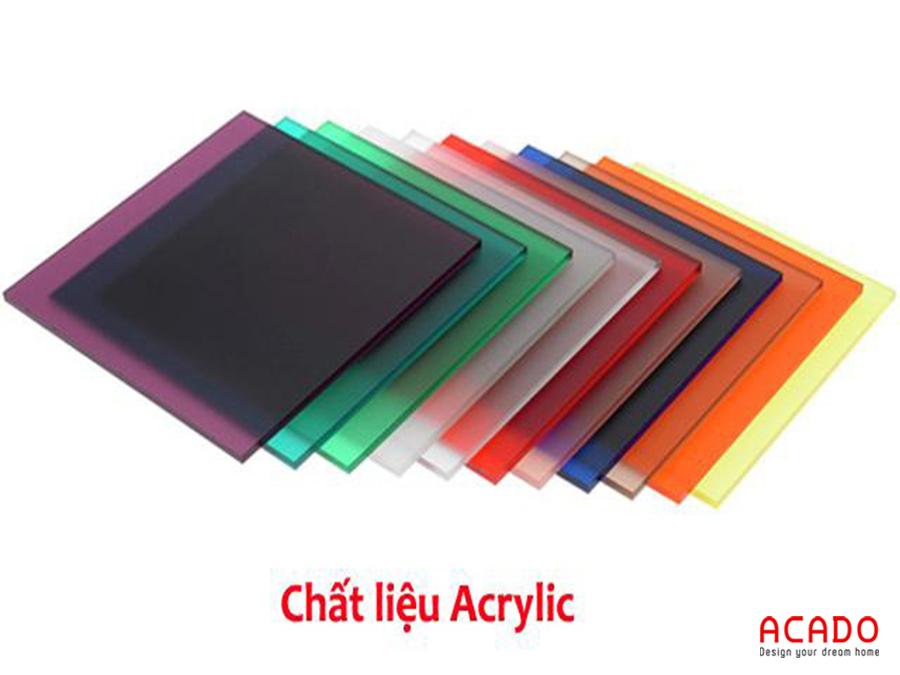 Chất liệu Acrylic