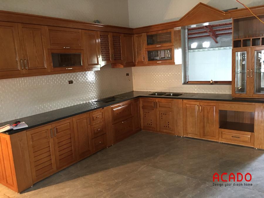 Hình ảnh tủ bếp tại Vĩnh Phúc khi hoàn thiện