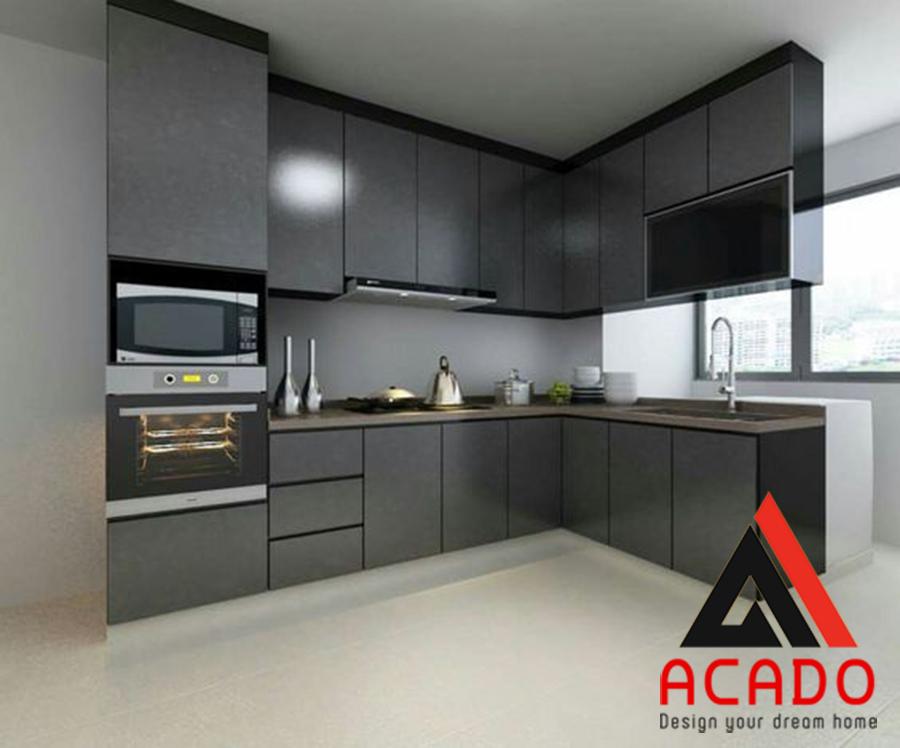Có nên làm tủ bếp Acrylic?