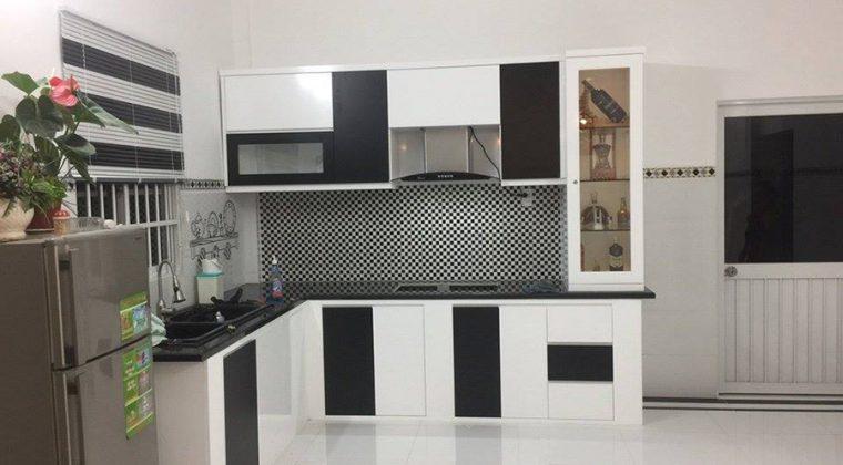 Có nên làm tủ bếp Melamine?