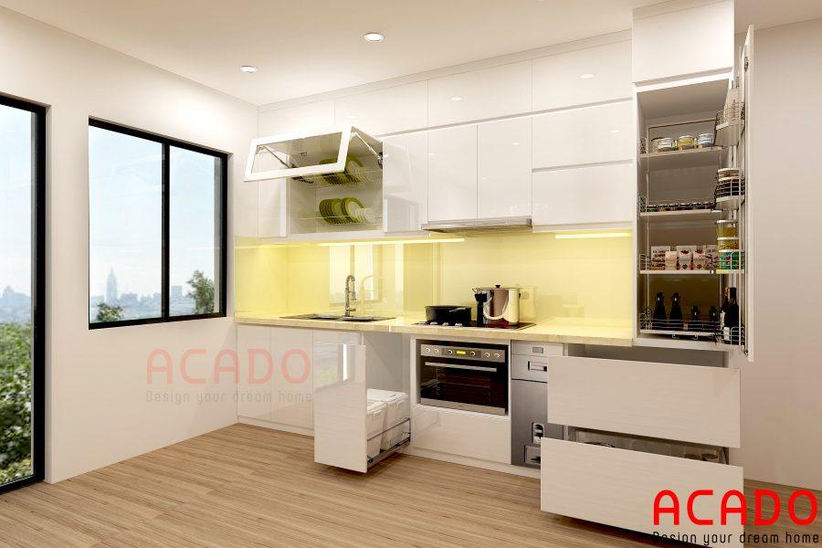 Nội thất tủ bếp Acado địa chỉ uy tín cung cấp phụ kiện tủ bếp chính hãng