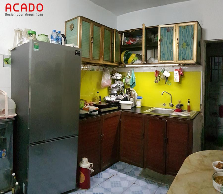 Hiện trạng của căn bếp khi Acado đến khảo sát