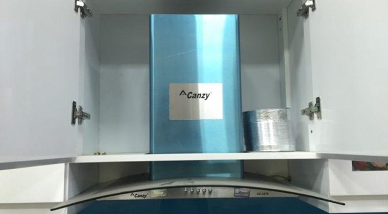 Máy hút mùi kính cong - nội thất ACADO