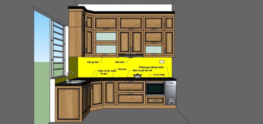 Phương án thiết kế tối ưu không gian Acado .