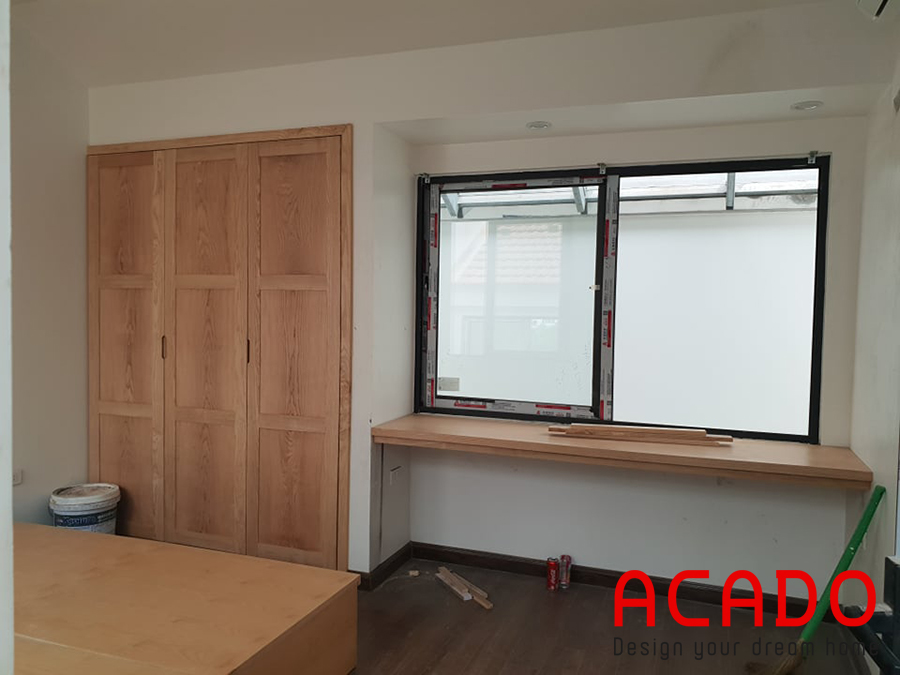 nội thất gỗ tự nhiên đơn giản mà thanh tao, đẳng cấp