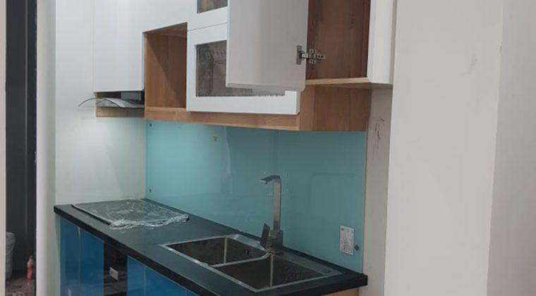 Hoàn thành công trình tủ bếp tại kiến hưng và bàn giao cho gia đình khách hàng