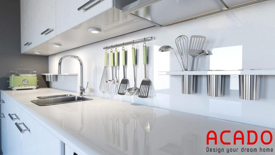 Duy trì vẻ đẹp, sạch sẽ cho căn bếp.