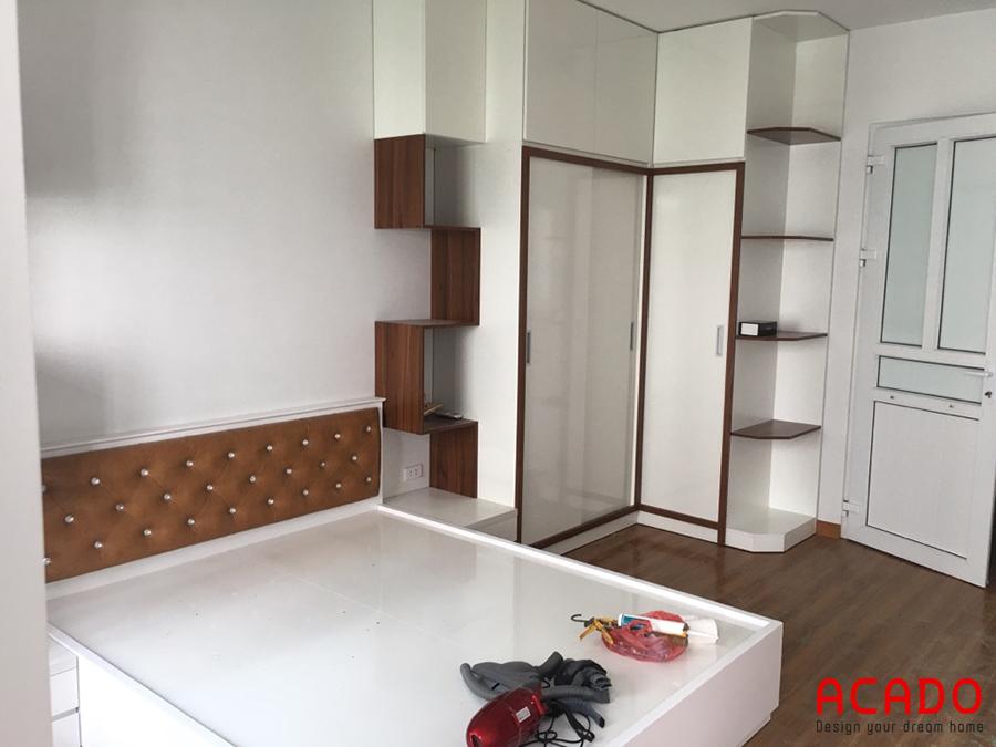 Sử dụng chất liệu melamine làm nội thất là một sự lựa chọn thông minh.