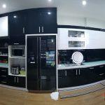 Nội thất tủ bếp tại Hà Cầu - Gia đình chị Thương
