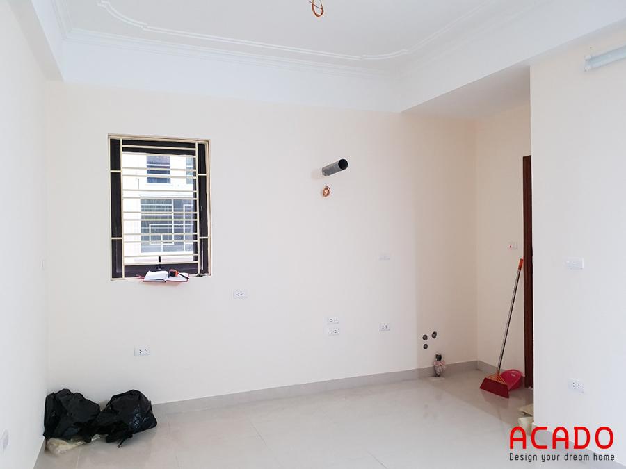Hình ảnh Acado khảo sát trước khi thi công tủ bếp tại Lê Lợi.