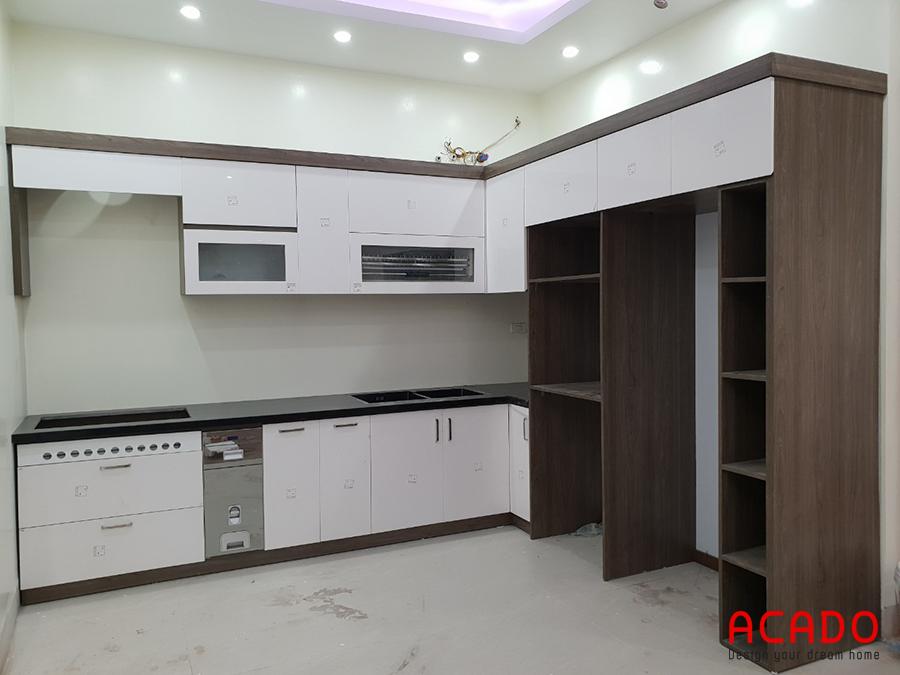 Hoàn thành thi công tủ bếp tại Lê Trọng Tấn, Hà Đông