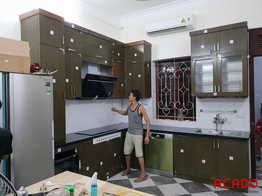 Khi sử dụng tủ bếp thùng inox cánh acrylic bạn không cần lo lắng hay băn khoăn về chất lượng.