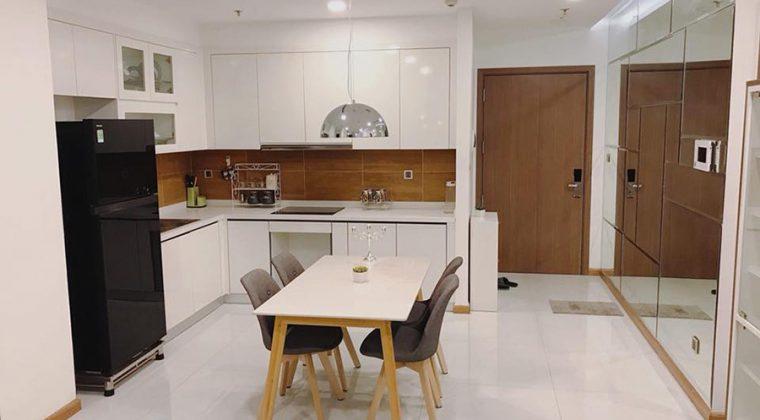 Mẫu tủ bếp Melamine mang lại sự mới mẻ cho không gian bếp