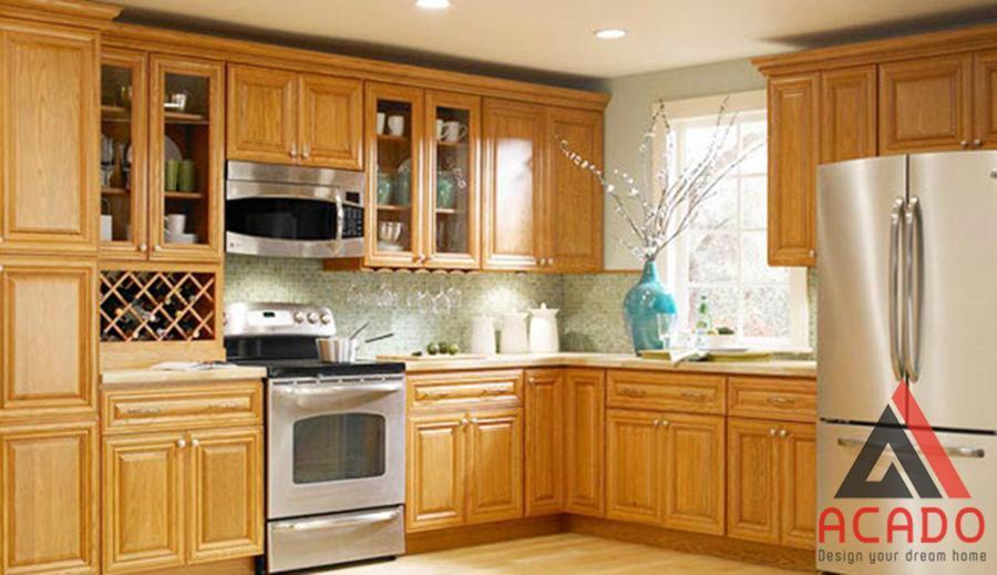Một căn bếp đẹp sẽ tạo cảm hứng cho người nội trợ.