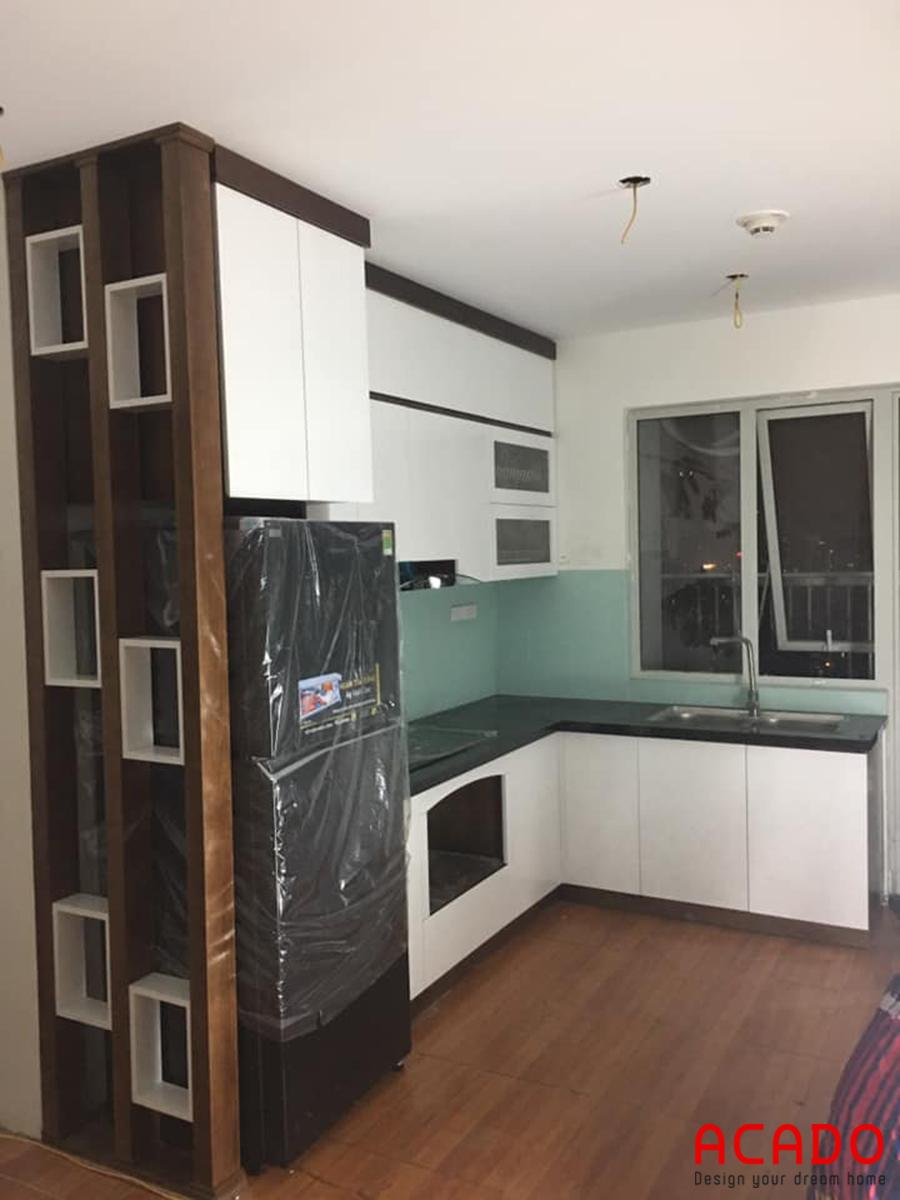 Một căn bếp đẹp tạo một không gian thư giãn tuyệt vời.