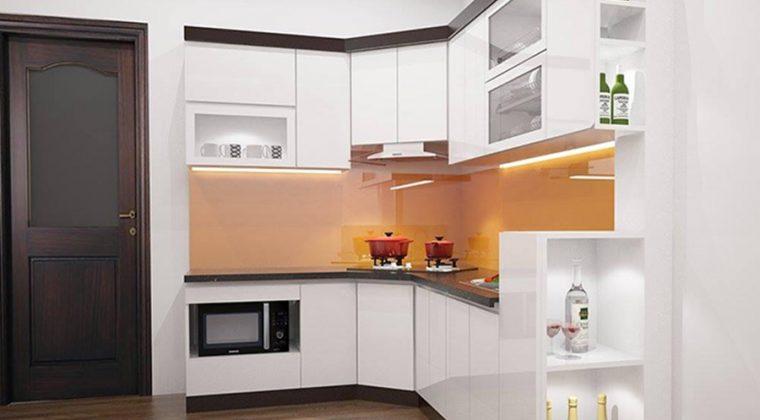 Tủ bếp trắng đen - sự kết hợp màu sắc tuyệt vời cho nhà bếp