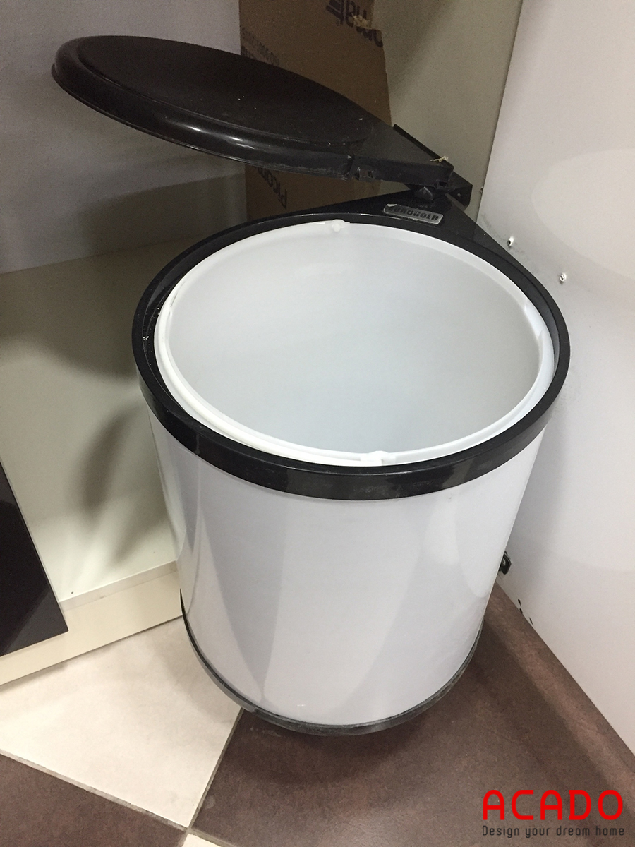 Dễ dàng cho việc đổ rác.