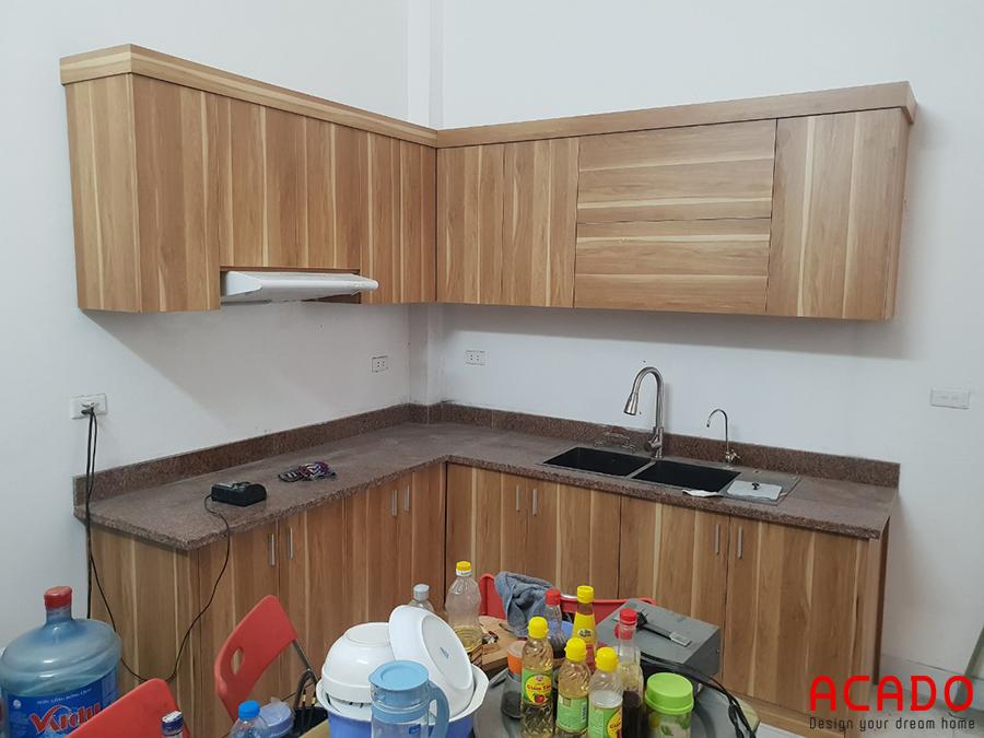 Hoàn thành thi công tủ bếp tại Văn Phú.