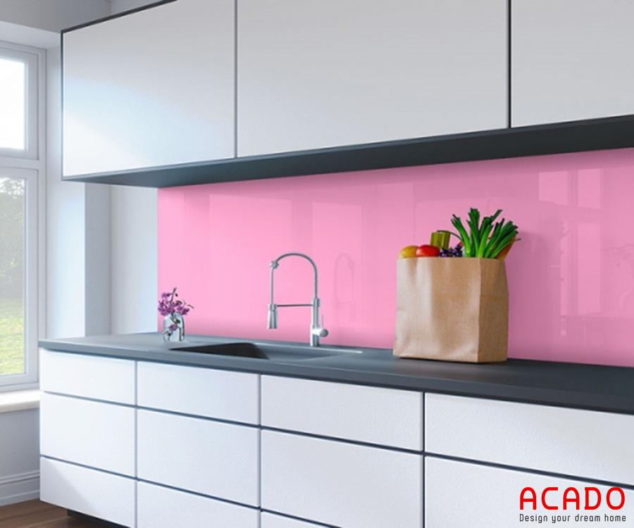 Màu kính bếp cho người mệnh hỏa- nội thất Acado.