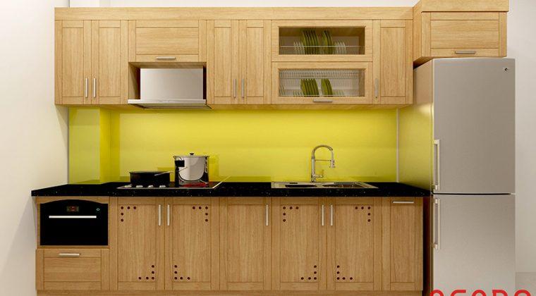 ACADO - đơn vị thi công tủ bếp nhỏ đẹp, kiểu dáng hiện đại giá rẻ tại Hà Nội