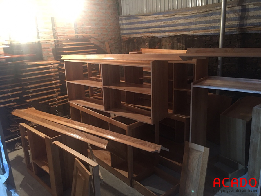 Xưởng sản xuất gỗ tự nhiên của ACADO.