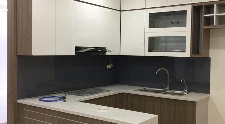 Tủ bếp Laminate 2020 ACADO thiết kế và thi công