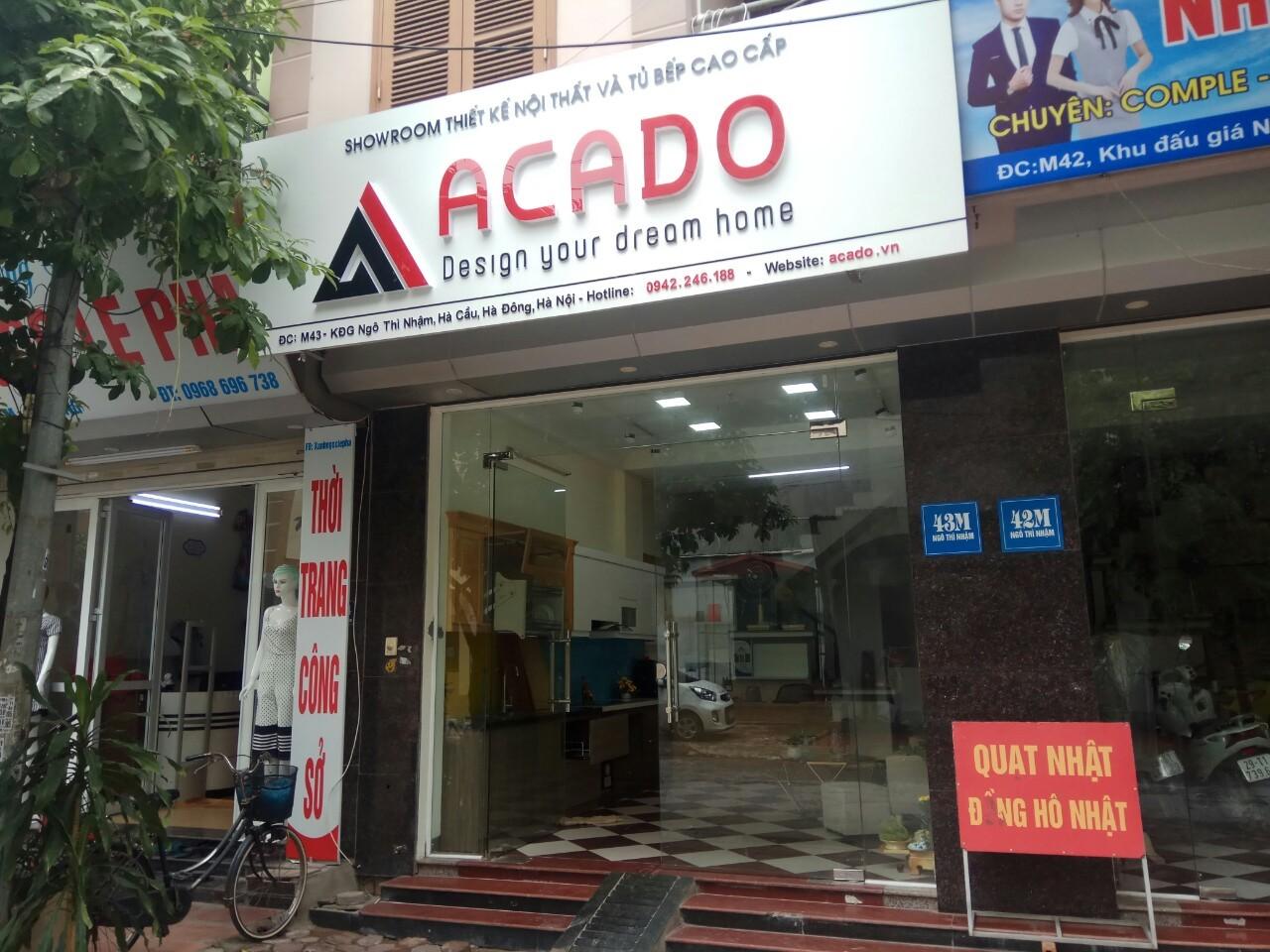 Showroom thiết kế nội thất và tủ bếp cao cấp ACADO