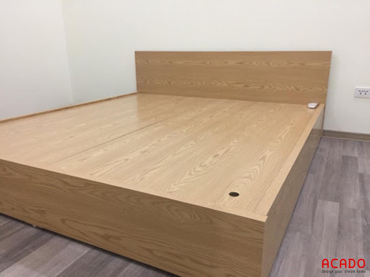 Giường gỗ sồi Nga ấm cúng, mang đến cho bạn những giấc ngủ ngon
