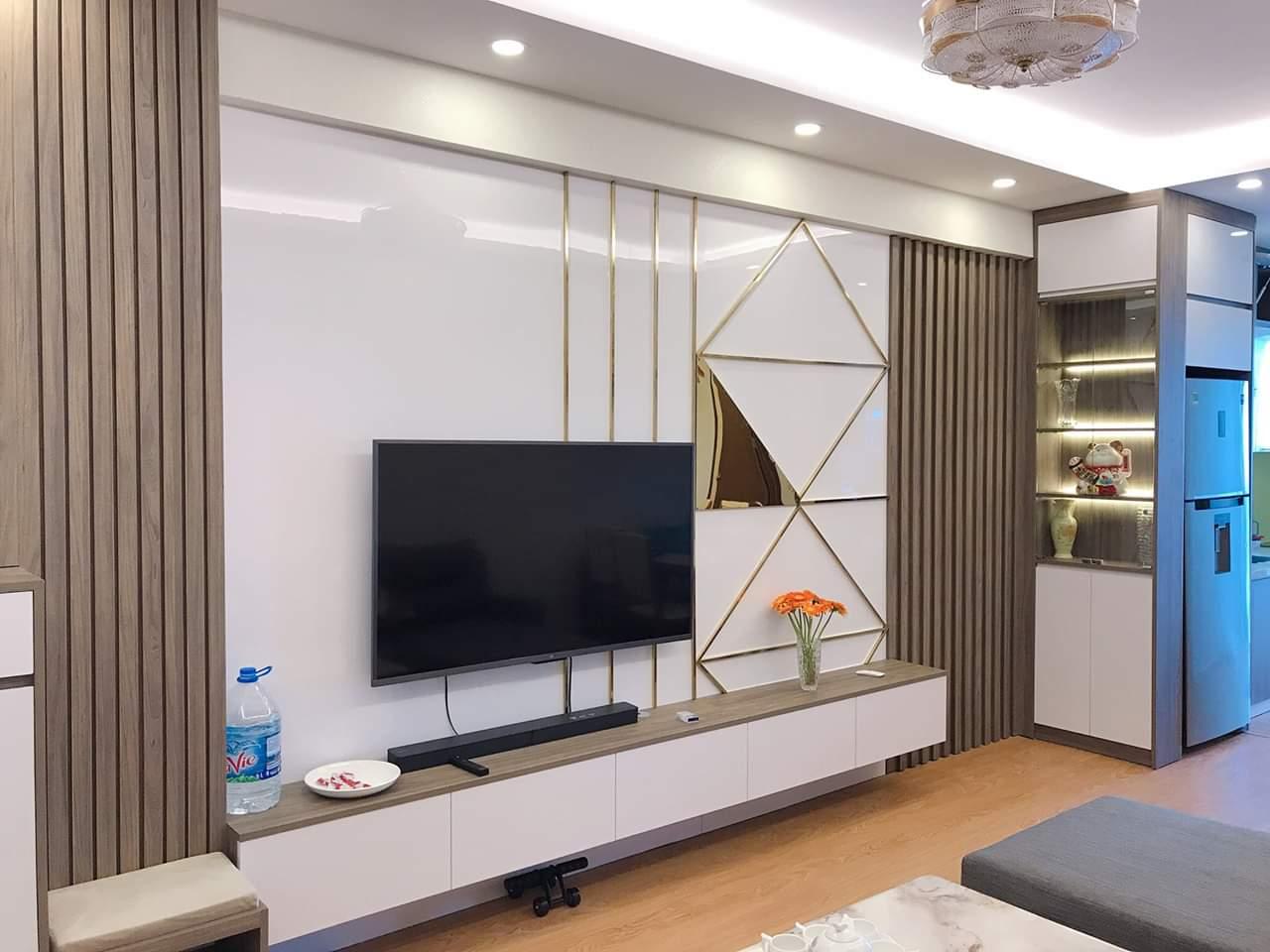 Mẫu Kệ tivi đẹp cho không gian phòng khách, mang đến vẻ đẹp hiện đại ,trẻ trung