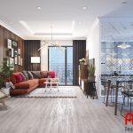 Mẫu thiết kế cho những căn hộ chung cư diện tích rộng