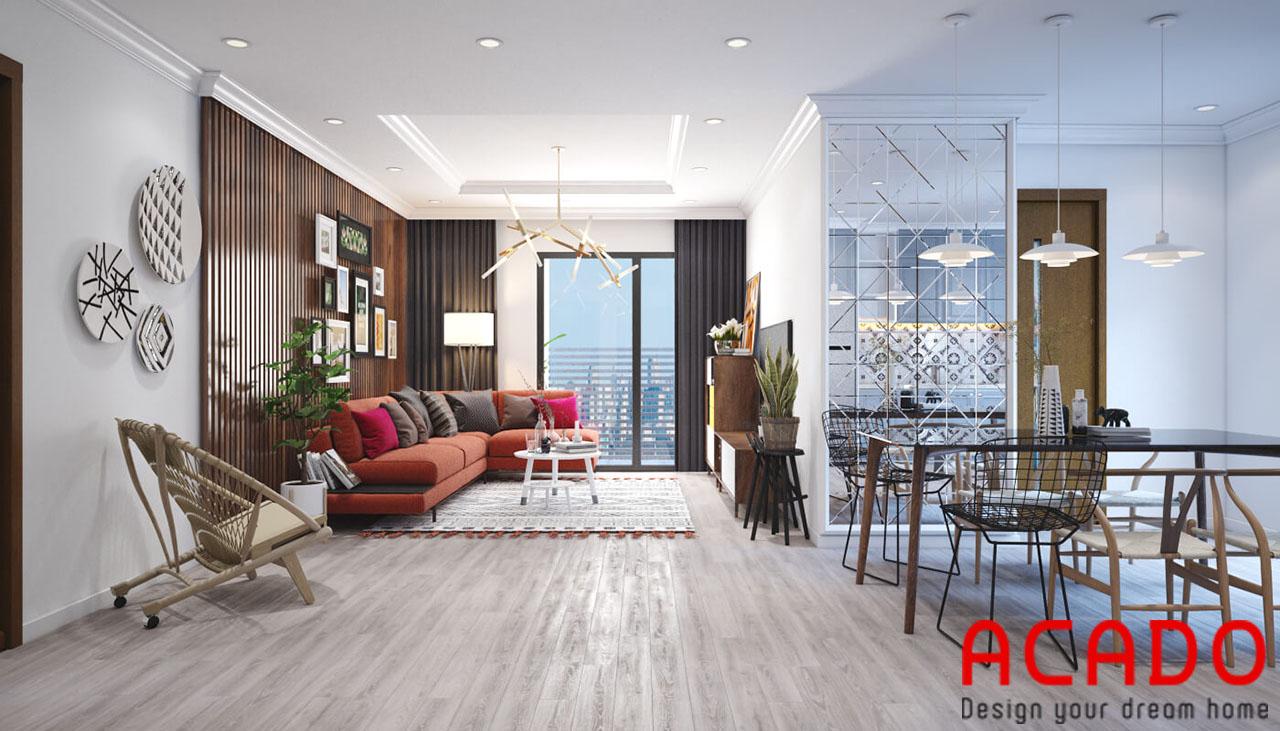 Mẫu thiết kế cho những căn hộ chung cư diện tích rộng - thiết kế nội thất chung cư