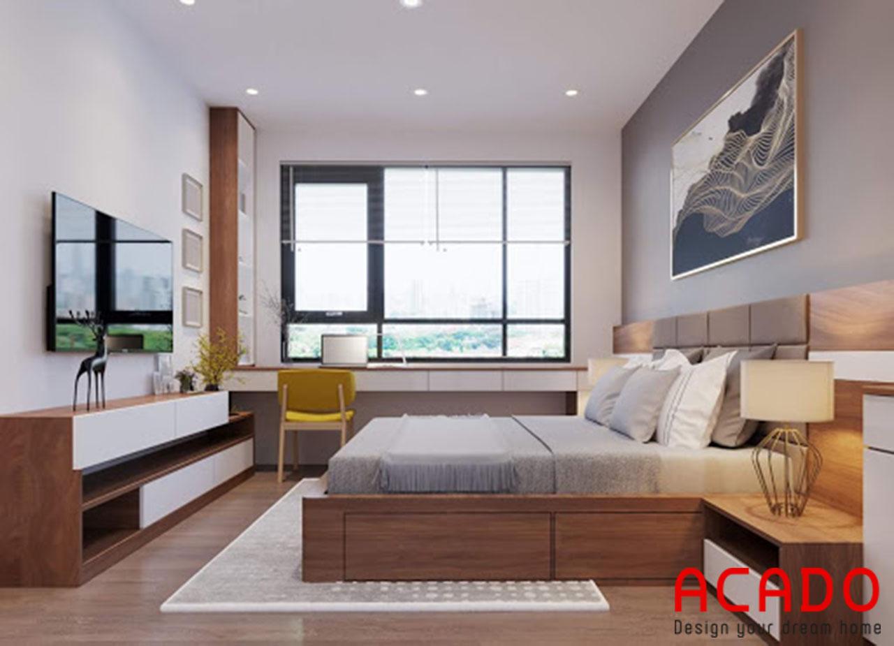 Nội thất phòng ngủ cho chung cư tại Acado