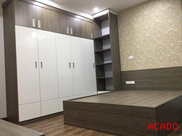 Nội thất Acado cung cấp các mẫu giường ngủ gỗ công nghiệp hiện đại, kiểu dáng trẻ trung
