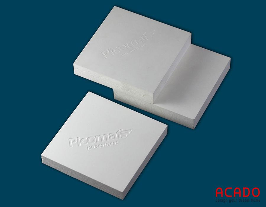 Ván nhựa Picomat - nội thất Acado