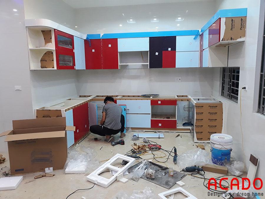 Tủ bếp Picomat 2020 - mẫu tủ bếp được nhiều gia đình lựa chọn