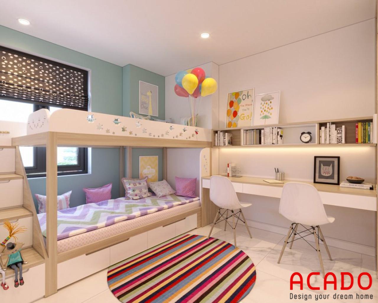 Nội thất phòng trẻ em - nội thất Acado