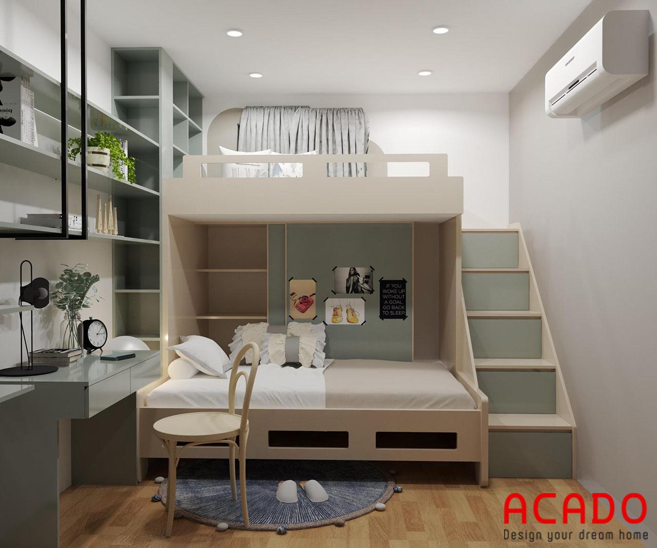Giường tầng cho bé - nội thất Acado
