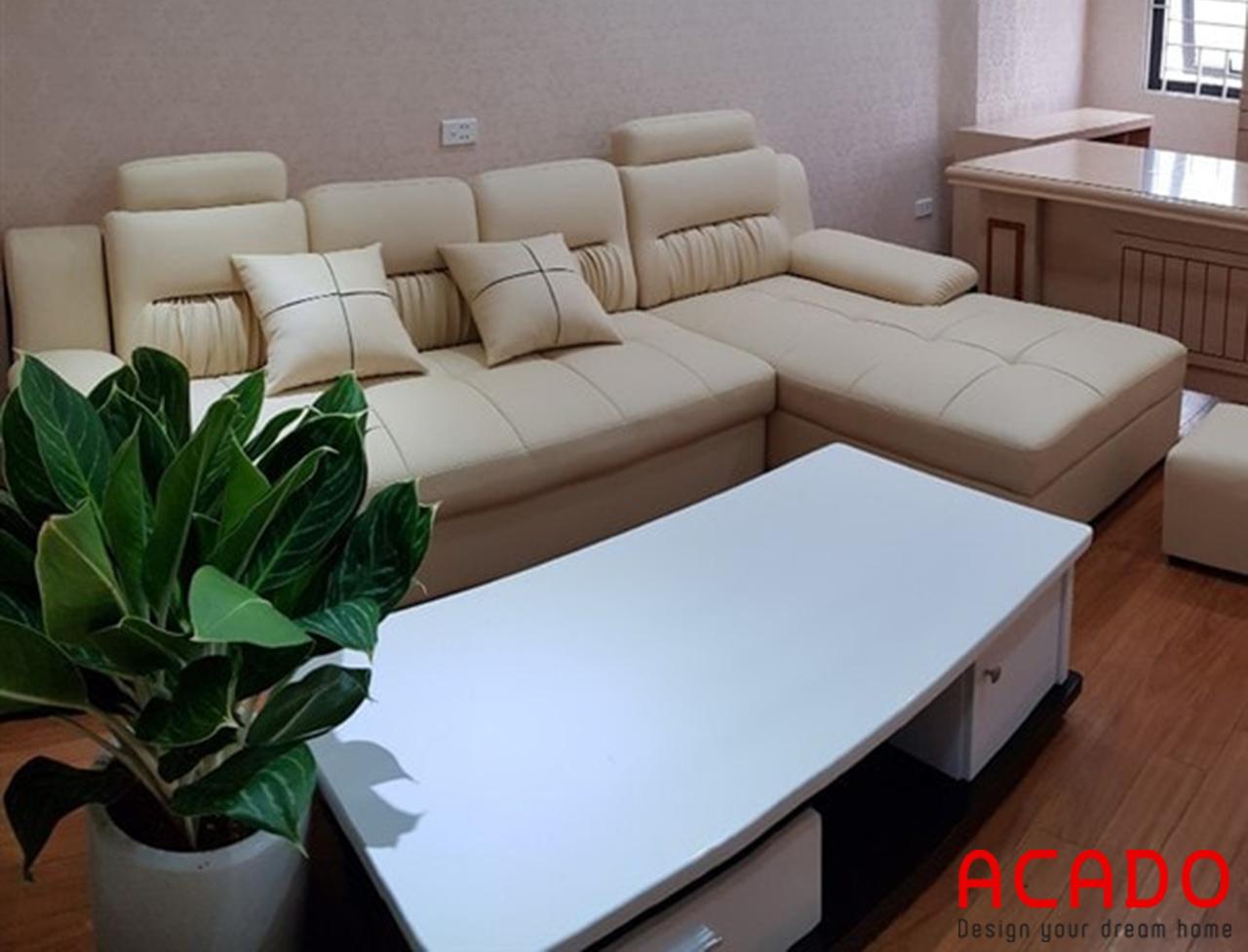 Bộ sofa đẹp dáng chữ L sang trọng