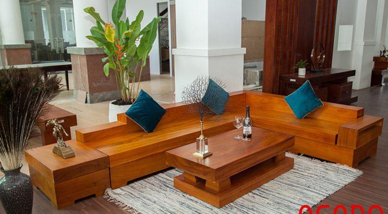 Ưu nhược điểm của ghế sofa gỗ - nội thất Acado