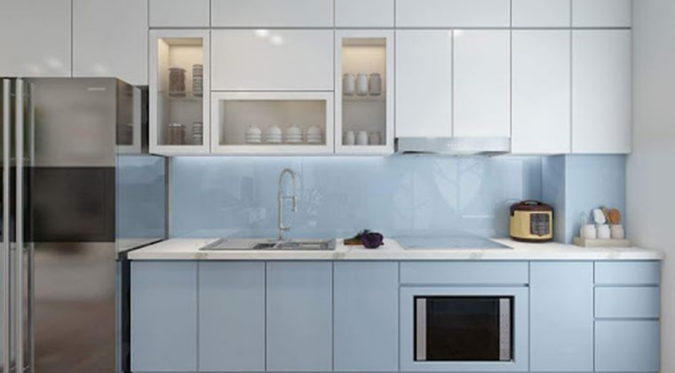 Tủ bếp Acrylic sang trọng, hiện đại cho bạn tham khảo